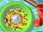 Ein leckeres Rindfleisch und Reis Gericht auf der Speisekarte noch heute! Sehen
