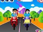 Romantische Fahrrad! Machen Couple†™ s Fahrrad freudiger helfen ihnen, e