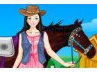 Emily hat eine Leidenschaft für Pferde seit ihrer Kindheit. Sie nahm Reiten Le