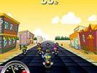 Race Choppers - das Rennen beenden, bevor die Zeit abläuft. -myhappygames.com.