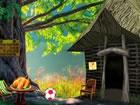 Angenommen, ein Erdmännchen ist in einem Waldhaus gefangen und Sie versuch