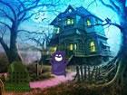 In diesem Fluchtspiel bist du in den Halloween Wald gekommen. Jemand hat den Va