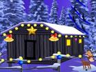In diesem Fluchtspiel hat sich Deer im Schneehaus eingesperrt. Versuche aus der