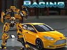 Robo Rennen ist die einzigartige Mischung aus Rennen und Kämpfen. Schlage