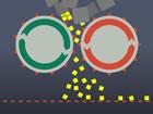 In diesem Spiel musst du die Rohblöcke, die von den Riemenscheiben verarbe