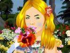 Rosy Rebecca liebt, hängen in Gärten. Als Meister Gärtner, sie liebt runter