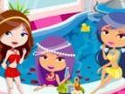 Diese niedlichen Prinzessinnen möchten entspannt, das ist, warum haben sie bes