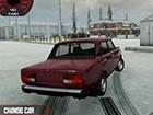 Im russischen Taz Fahrspiel wählen Sie ein Auto und betreten die leeren St