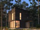 EinRustikale moderne Haus Fluchtspiel, das Sie in ein rustikales modernes
