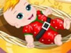 Diese Süsse ist freut sich auf Weihnachtsmann ...