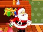 Hilf Santa weiterhin seine Reise geben Geschenk...