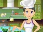 Eine Ihrer Lieblings-Host Kochkurs Serie, Sarah,  braucht ein wenig Hilfe mi