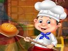 Ein schicker Bäcker lebt in einem sch&o...