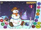 Es ist Weihnachtszeit; Stellen Sie Ihre eigenen Schneemann! Es ist Zeit, ihn zu