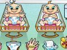 Können Sie die Baby-Drillinge verwalten, wie Sie versuchen, sie glücklich und