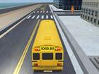 Hier ist ein Schulbus Park simulationsspiel mit 3D-Spielkunstanimation. Sie hab