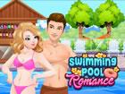 Lucas sucht offensichtlich ein Mädchen im Schwimmbad. Und er findet einen,