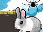 Ein kurzer Plattformer, mit dem Sie zwischen einer Spinne und einem Hasen wechs