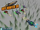 Sky Hunter 3D ist ein 3D-Spiel, in dem du mit Raumschiffen im Cyber-Stil am Him