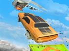 Es ist ein 3D-Spiel, das eine Schleuder und ein Auto kombiniert. Sie müsse