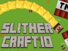 Wenn Sliter.io und Minecraft sich treffen, erhalten Sie SlitherCraft.io! Sammle