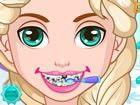 Schneekönigin hatte Zahnschmerzen , so kann sie nicht gehen.\r\njedes Mädchen