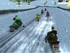 Snow Storm ist ein spaßiges, eisiges Spiel, in dem du dein Schneemobil durch e