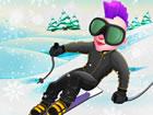 Snowcross Stunts X3M ist ein neues und aufregendes Wintersnowboard-Spiel. Schal