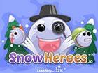 Eine Schneeballschlacht zum Thema Winter.\r\n\r\nBeginne als kleiner Schneeball