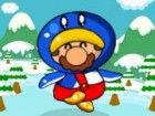 Es schneit immer wieder. Mario und Prinzessin s...