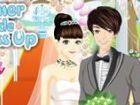 Diese schöne Braut bereitet sich auf ihre Hochzeit. Bitte helfen Sie, ihr Desi