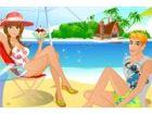 Becky und Ashley sind diejenigen, die die Strandmode führen! Sie sind immer di