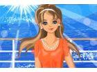 Ella nehmen einen Kurzurlaub mit ihren Freundinnen auf einer tropischen Insel;