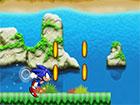 In Sonic Runner hilf Sonic the Hedgehog beim Laufen und Springen durch die wund