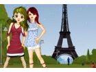 Diese Girls sind gerade angekommen in Paris Fra...