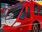 Fahren Sie mit diesem Bus in diesem spannenden Spiel, wo Sie haben, um Ihre Ges