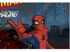 Spiderman braucht deine Hilfe, wie er Rennen qu...
