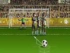 Spielen Sie 2 Win Fußball - Kick der Ball die Fußball-Spieler übergeben und