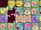 Hier sind einige schöne Bilder von SpongeBob und seinen Freunden. Finde zwei g