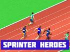 Sprinter Heroes ist ein 2-Spieler-Sprint-Spiel, das auf der ganzen Welt stattfi