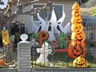 Ein Fluchtspiel, das Sie in ein Haunted House Halloween führt. Das Spiel i