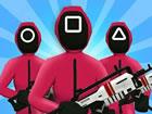 Jetzt kannst du Squid Games Challenge online in deinem Webbrowser kostenlos auf