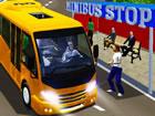 Das Spiel City Minibus Driver lädt Sie ein, Fahrer in einer überf&uum