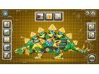 Stahl Dino Toy Serie Spiele, eine starke Mechaniker Dinosaurier montieren. Verp