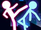 Es ist Zeit, gegen Stickman Ultimate Street Fighter 3D zu kämpfen! Stelle