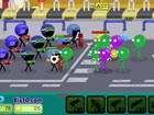 Stickmen vs Zombies ist das Zombiestrategie-Spiel, in dem du eine gruselige Inv