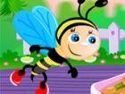 Baby Bee wird sein neues Menü, das er gelernt yesterday.The Mahlzeit heißt St