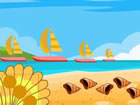 Strand flucht ist ein Point-and-Click-Spiel. Stellen Sie sich vor, Sie wär