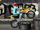 Fahren Sie Ihr Fahrrad in der Garage und deaktivieren Sie die Hindernisse. Sie