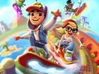 Subway Surfers Multiplayer ist ein Endlos-Runner-Spiel. Während die Hoolig